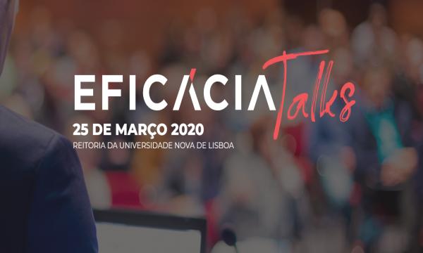 Imagem com logo da Eficácia Talks