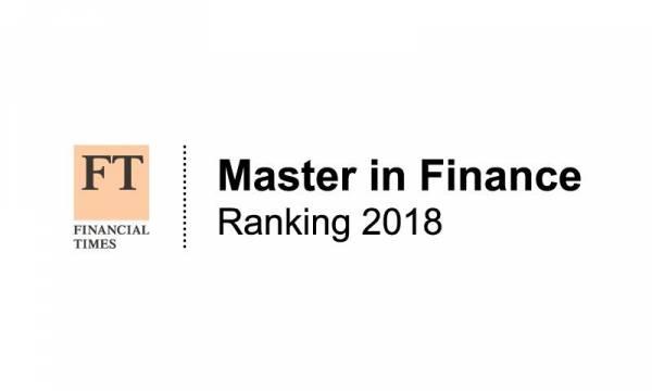 FT Ranking Finanças 2018