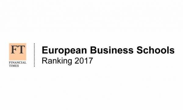 Financial Times Ranking Best European Business Schools 2017