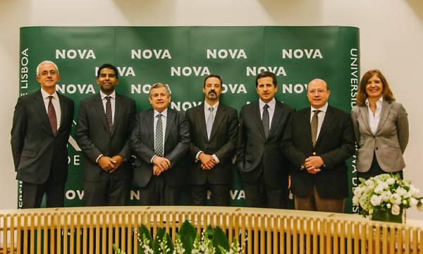 Cerimónia de Assinatura de Protocolos de Colaboração entre a NOVA, a José de Mello Saúde e a Fundação Amélia de Mello