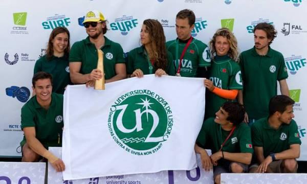 Equipa de Surf da NOVA celebra vitória no Campeonato Nacional