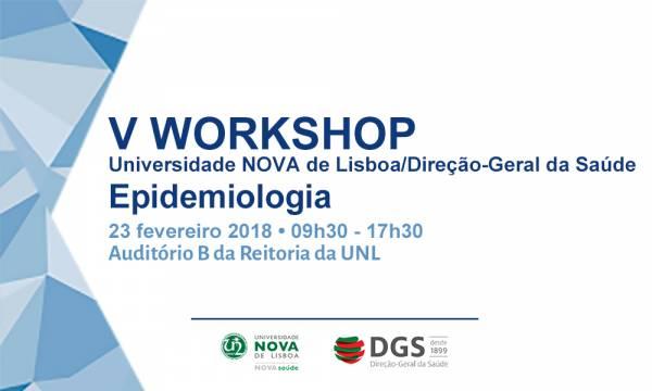 V Workshop Epidemiologia NOVASaúde