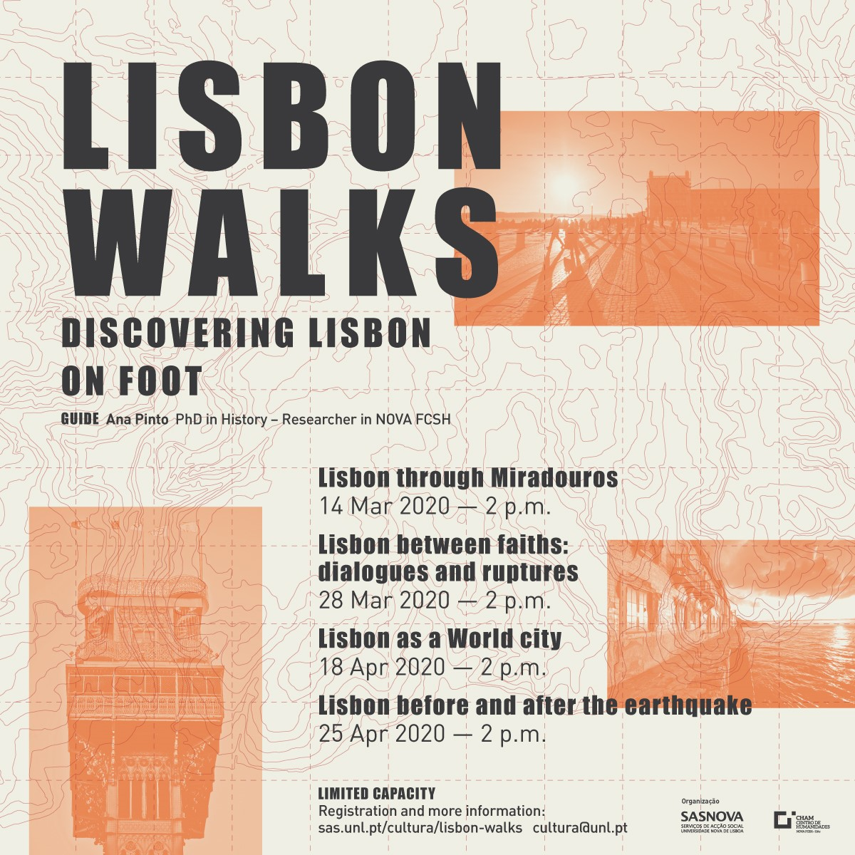 Cartaz Lisbon Walks