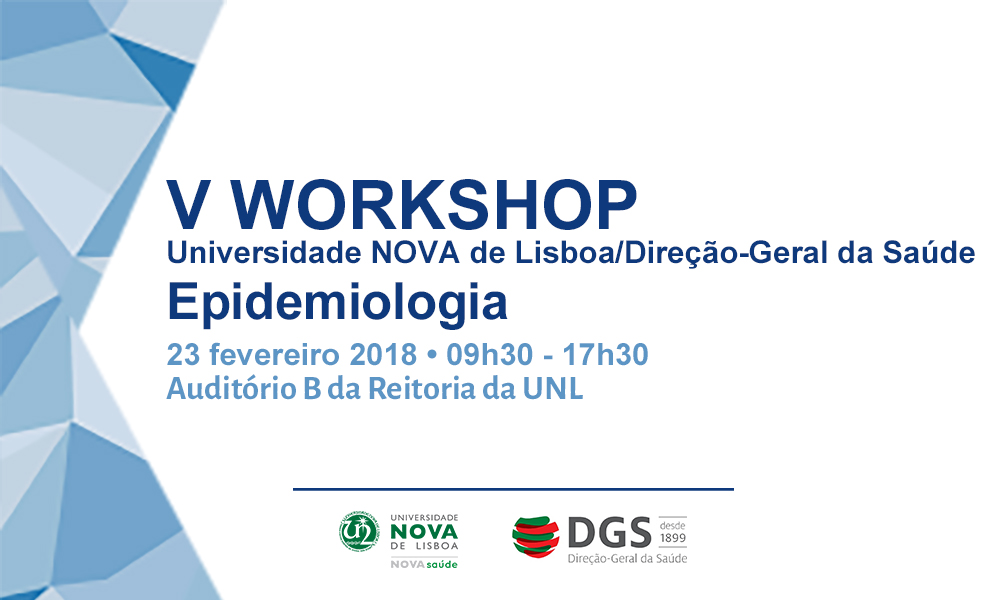 V Workshop Epidemiologia NOVASaúde